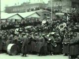 Последний парад Белой гвардии во Владивостоке 1922 г.