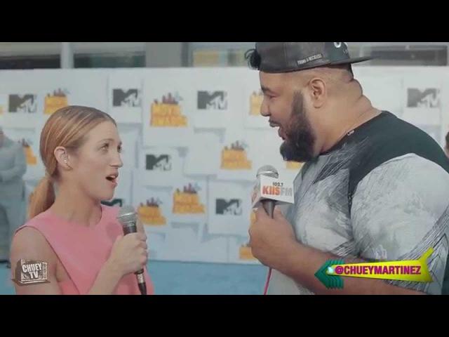 Brittany Snow - 2015 MTV Movie Awards |Chuey Martinez|