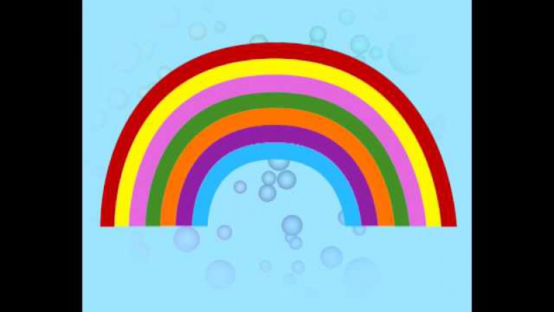 Rainbow song from the Kid's Box Level 1 interactive DVD