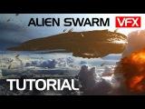 Make an Alien Swarm from Ender's Game VFX tutorial Crest VFX
