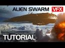 Make an Alien Swarm from Enders Game VFX tutorial Crest VFX