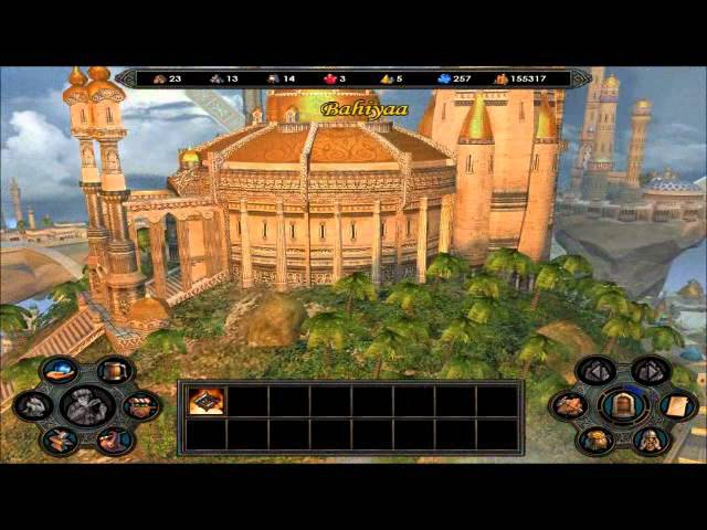 Heroes of Might and Magic 5 - Cities
