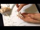 Мастер-класс: лепка рук для куклы из пластики