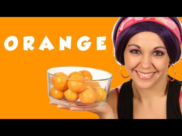 Color Orange | Learn Colors ~ Tea Time with Tayla!