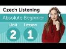 Czech Listening Practice - Preparing For a Czech Business Meeting