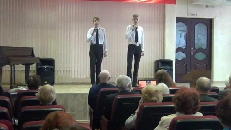 Выступление вокальной студии ЛПТ для ветеранов - БИБЛИОТЕКА Островского г.Комсомольск-на-Амуре