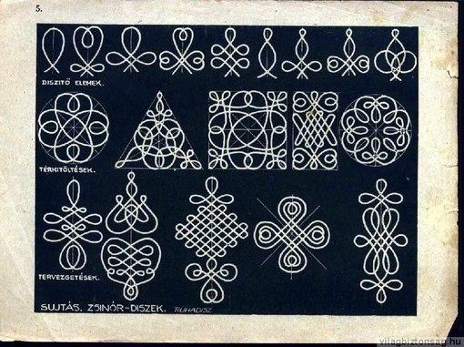 Схемы венгерской вышивки