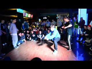 Ghetto noise vol.10. HIP-HOP PRO 2*2 (OLD SCHOOL+NEW SCHOOL) FINAL. Расти и Азамат vs. Коробок и Луиза (win)