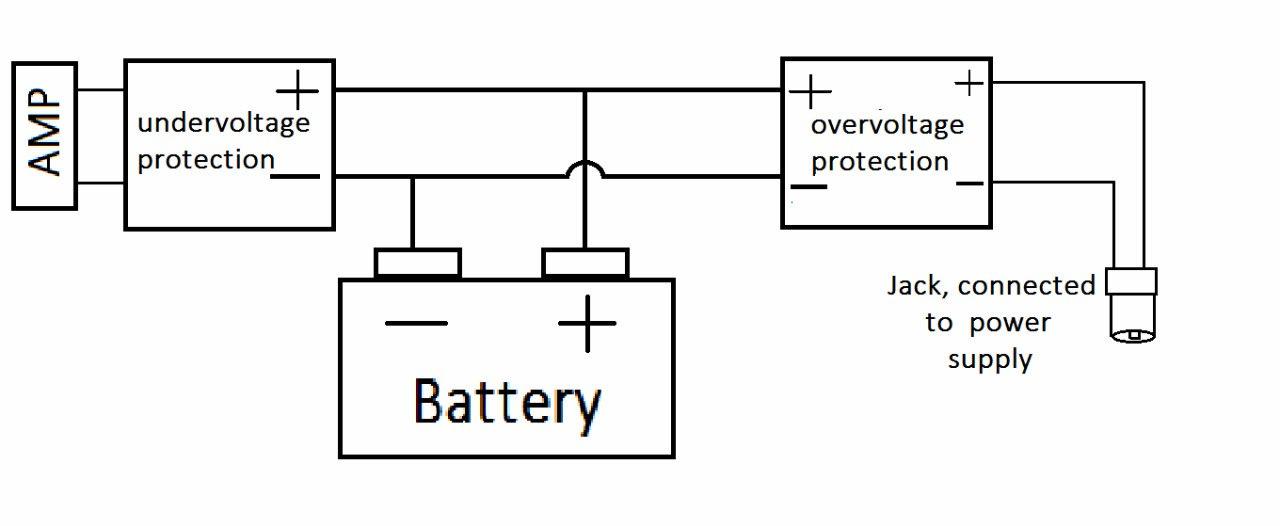 Loudspeaker Circuit Diagram | Bluetooth Speaker Battery Control Again And Again Diyaudio