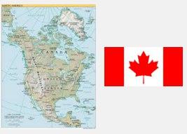 Канада.Орталық Америка елдері.