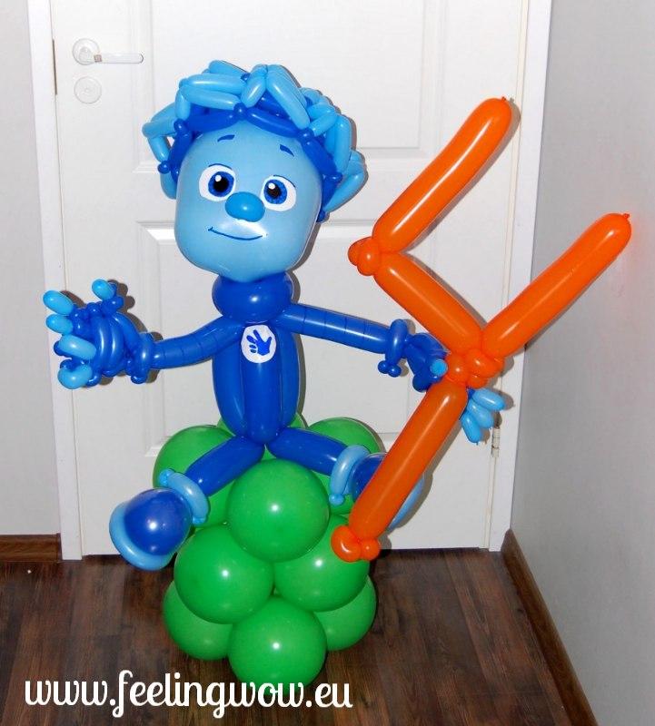 Поделки из воздушных шаров на день рождения мальчику 83