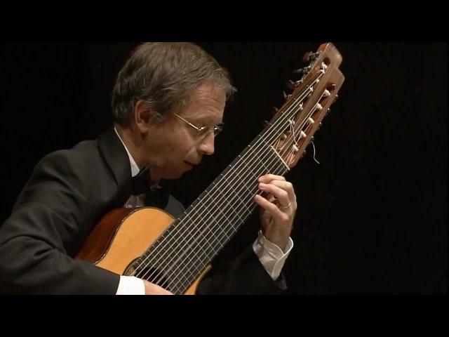 Partita in C minor BWV 997 Sarabande Göran Söllscher  11 string Guitar