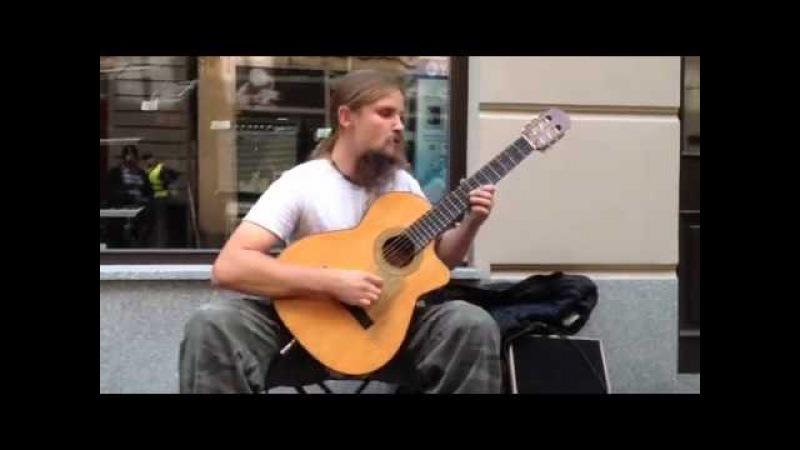 Amazing guitarist from Poland(in Katowice) Mariusz Goli