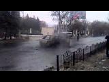 22.01.2015. СРОЧНО! В Донецке снаряд попал в трамвайную остановку: 13 человек погибли, десятки ранены!