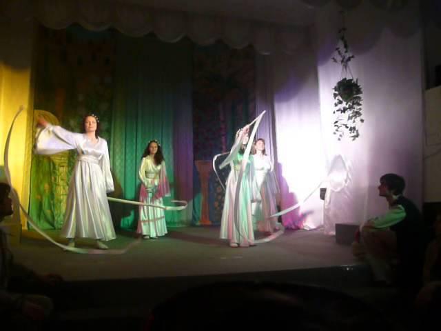 ПАСХА-2011 г. Елизово (фрагмент спектакля)