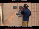 Double Door Forcible Entry w Double Drop Bars - IRONS and LADDERS LLC