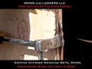 Skinning Metal Doors and Obtaining a Gap - IRONS and LADDERS LLC