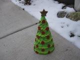 Paper Cone Christmas Tree Craft Tutorial