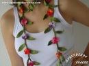 Cordão de Croche Floral Matisse - Aprendendo Crochê