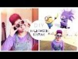 DIY: костюм на Хэллоуин-Злой Миньон + прическа   DIY PURPLE MINION HALLOWEEN COSTUME