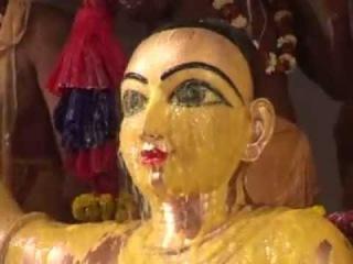 Sridham Mayapur - Sri Panca Tattva Installation
