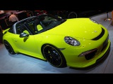 TechArt Cabriolet Porsche 911 Targa 4S at Essen Motorshow - Exterior Walkaround