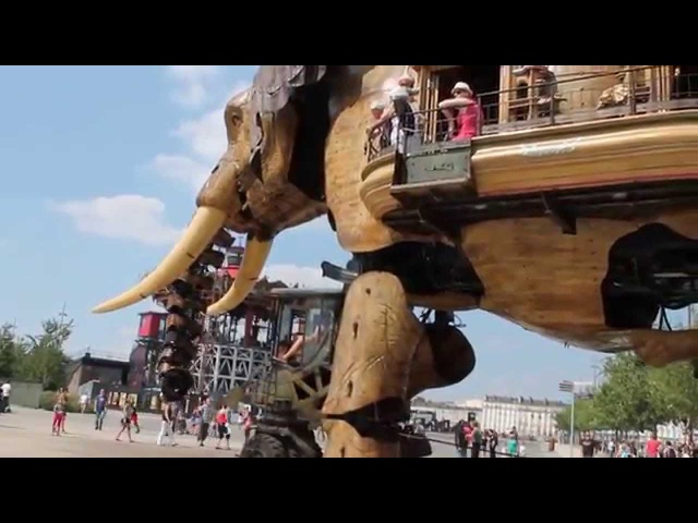 Les Machines de Lile, Nantes, France