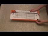 Обзор резака для бумаги Fiskars Rotary Trimmer (review)