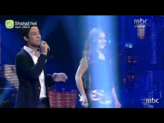 Arab Idol - النتائج - أحمد جمال و فرح يوسف_1