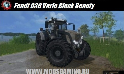 Farming Simulator 2015 download mod tractor Fendt 936 Vario Black Beauty