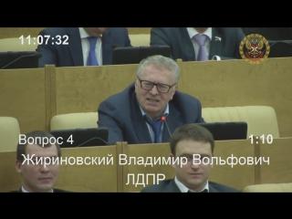 В.Жириновский о советском паспорте стихами В.Маяковского (2015) фрагмент выступления