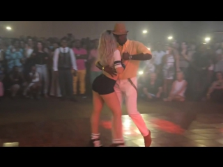 Секси Кизомба - SEXY Sara Lopez Dancing Kizomba Bario Latino 19-07-14 HD music