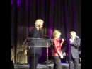 Demi Lovato, John Legend and Tony Bennett singing happy birthday to Hillary Clinton #3