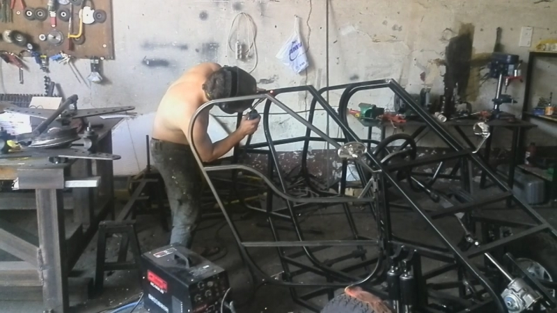 Перевариваем кузов кабинороллера