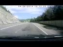 Всё Черное море 2014, на машине, дорога. Джубга Туапсе Сочи Адлер Красная поляна Ла ...