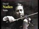 David Nadien plays Veracini's Largo