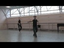 End of Mariinsky Ballet Class Professor Batalov Students Korsuntsev Evseeva