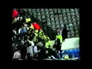 Football Hooligans Chelsea Fight Man City