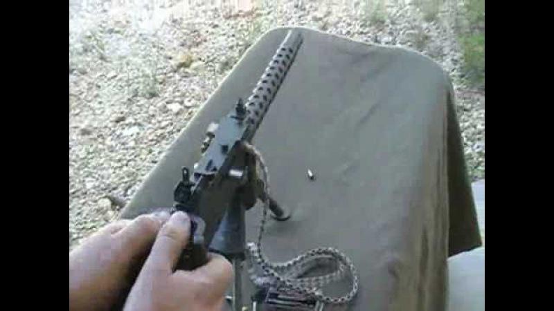 Micro-beltfed machinegun 1919a4 Lakeside Machine Miniature beltfed 22LR