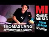 Thomas Lang Drumming Lesson