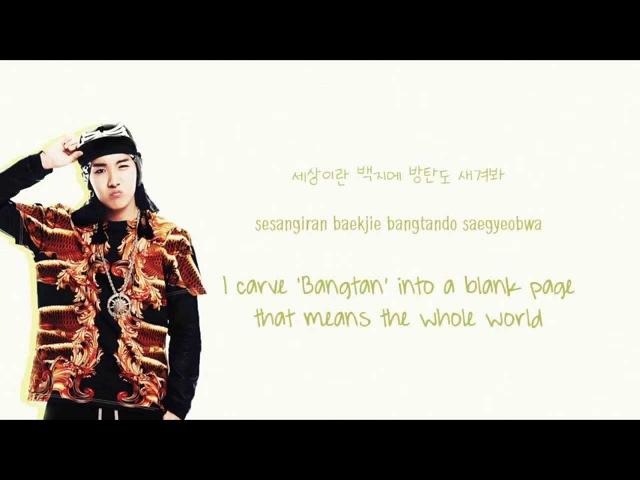 BTS (방탄소년단) - 길 (Road/Path) [Color coded Han Rom Eng lyrics]