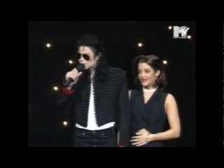 Michael Jackson Lisa Marie Presley MTV VMA 1994 - Kiss