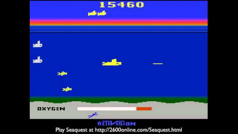 Seaquest for the Atari 2600