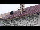 укладка металлочерепицы на крышу