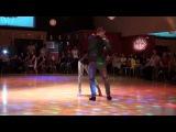 !La Maxima 79 - Pobrecita. HD Salsa Dance con Sergio y Priscila en Sabor y Baile Toledo
