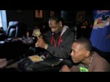 Snoop Dogg rollin up Kurupts MoonRock while playing unrealeased song with Pharrell [Rhymes & Punches]