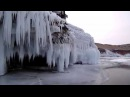 Озеро Байкал, прогулка по островам на коньках - Nordic Skates Ice Blades in Baikal