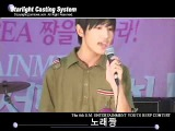 Pre-debut Changmin audition for SM