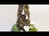 Елка Своими Руками из Шишек. Christmas tree from cones hand made