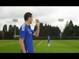 Chelsea's Nemanja Matic plays a magic trick with a pebble to 'Turn Next Season Blue'